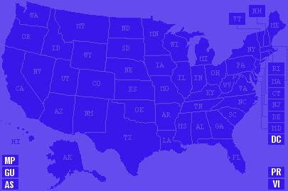 Map Of Us Militias State Militia Groups